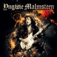 【CD国内】 Yngwie Malmsteen イングベイマルムスティーン / World On Fire  送料無料