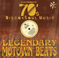 【CD国内】 DJ OGGY / Legendary Motown Beats By Av8 -70s Disco  &  Soul Music-