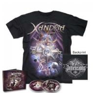 【CD輸入】 Xandria キサンドリア / Theater Of Dimensions:  T-shirt + Mediabook Bundle (2cd+t-shirt)(S Size) 送料無料