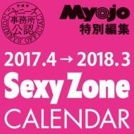 【単行本】 Sexy Zone セクシーゾーン / 2017.4→2018.3 SexyZoneカレンダー