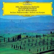 【Hi Quality CD】 Mendelssohn メンデルスゾーン / 交響曲第5番『宗教改革』、第1番 ヘルベルト・フォン・カラヤン & ベルリ