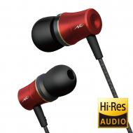 【Goods】 アルミハウジング 小型ハイレゾイヤホン(レッド) HP-NEH31R 送料無料