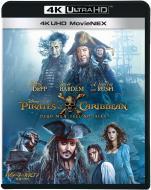 【Blu-ray】 パイレーツ・オブ・カリビアン/最後の海賊 4K UHD MovieNEX [ブルーレイ+4K UHD] 送料無料