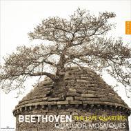 【CD輸入】 Beethoven ベートーヴェン / 後期弦楽四重奏曲集 モザイク四重奏団(3CD) 送料無料