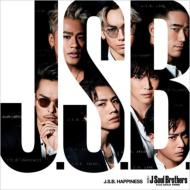 【CD Maxi】 三代目 J Soul Brothers from EXILE TRIBE / J.S.B. HAPPINESS (+DVD)