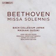 【SACD輸入】 Beethoven ベートーヴェン / ミサ・ソレムニス 鈴木雅明&バッハ・コレギウム・ジャパン 送料無料