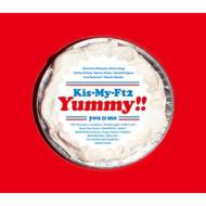 【CD】初回限定盤 Kis-My-Ft2 / Yummy!! 【初回盤A】(+DVD) 送料無料