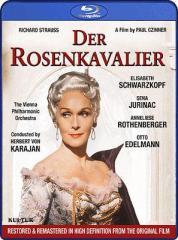【Blu-ray】 Strauss, R. シュトラウス / 『ばらの騎士』全曲 ハルトマン演出、カラヤン&ウィーン・フィル、シュヴァルツコ