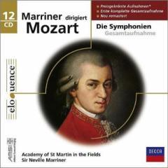 【CD輸入】 Mozart モーツァルト / 交響曲全集 マリナー&アカデミー室内管弦楽団(12CD) 送料無料