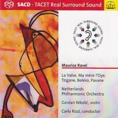 【SACD輸入】 Ravel ラベル / ボレロ、ラ・ヴァルス、亡き王女のためのパヴァーヌ、ツィガーヌ、他 リッツィ&オランダ・フィ