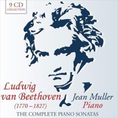 【CD輸入】 Beethoven ベートーヴェン / ピアノ・ソナタ全集 ジャン・ミュラー(9CD) 送料無料