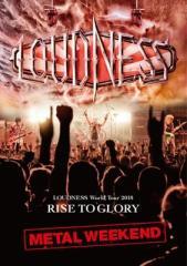 【DVD】 LOUDNESS ラウドネス / LOUDNESS World Tour 2018 RISE TO GLORY METAL WEEKEND 【DVD+2CD / 日本語解説書封入】 送料
