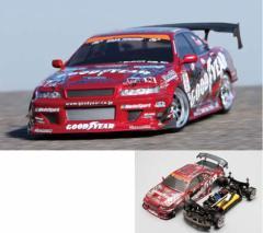 ヨコモ 1/10 電動RC組立キット ドリフトパッケージD1 GOODYEAR Racing with Kunny'z JZX100 2010【DP-JZX2A】ラジコン 【返品種別B】