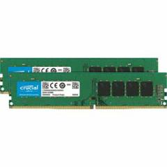 Crucial CT2K16G4DFD824A PC4-19200 (DDR4-2400)288pin DDR4 DIMM 32GB(16GB×2枚)[CT2K16G4DFD824A]【返品種別B】
