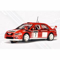 オートアート 1/32 三菱 ランサー EVO7 2001 WRC #7 (グレートブリテン) 【13011】スロットカー 【返品種別B】