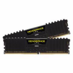 コルセア PC4-21300 (DDR4-2666)288pin DDR4 DIMM 8GB(4GB×2枚) CMK8GX4M2A2666C16【返品種別B】