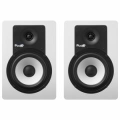 フルイドオーディオ Bluetooth対応ブックシェルフ型モニタースピーカー(ホワイト)【ペア】 C5BTW【返品種別A】