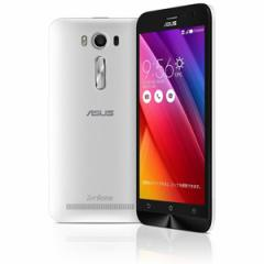 エイスース SIMフリースマートフォン ZenFone 2 Laser(Qualcomm Snapdragon 410/メモリ 2GB)16GB ホワイト  ZE500KL-WH16【返品種別B】