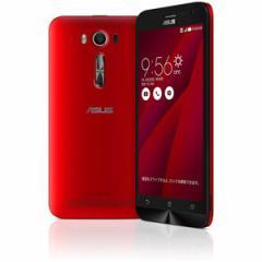 エイスース SIMフリースマートフォン ZenFone 2 Laser(Qualcomm Snapdragon 410/メモリ 2GB)16GB レッド  ZE500KL-RD16【返品種別B】