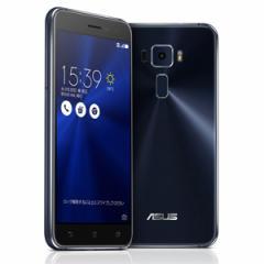 エイスース ZE520KL-BK32S3 SIMフリースマートフォン ZenFone 332GB サファイアブラック[ZE520KLBK32S3]【返品種別B】