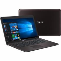 エイスース X756UV-T7500 17.3型ノートパソコン ASUS VivoBook X756UV ダークブラウン[X756UVT7500]【返品種別A】