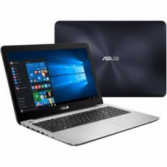 エイスース 15.6型ノートパソコン ASUS VivoBook X556UA ダークブルー X556UA-7500【返品種別A】