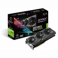 エイスース PCI-Express 3.0対応 グラフィックスボードASUS ROG-STRIX-GTX1080TI-O11G-GAMING  STRIXGTX1080TIO11G-G【返品種別B】