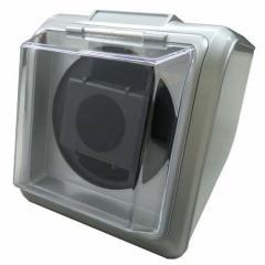時計用品 ウォッチワインダー1本巻き シルバー KA078-013[KA078013Sギン]【返品種別B】