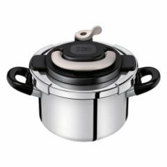 ティファール(T-FAL) P4360431 圧力鍋【IH対応】 4.0L アイボリークリプソ アーチ[P4360431]【返品種別A】