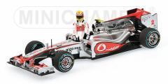 ミニチャンプス 1/43 ボーダフォン マクラーレン MP4-25 L.ハミルトン カナダGP 2010【530104322】ミニカー 【返品種別B】