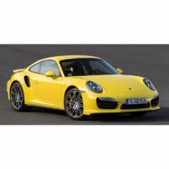 ミニチャンプス 1/18 ポルシェ 911 ターボ S(991)2013 イエロー/シルバーホイール【110062322】ミニカー 【返品種別B】