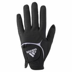 アディダス Adidas QR894 22cm BK アディテック メンズ・ゴルフグローブ 左手用(ブラック・22cm)Adidas[ADQR89422CMBK]【返品種別A】