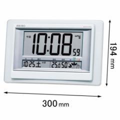 セイコークロック 置掛兼用時計 SQ-432-W[SQ432W]【返品種別A】