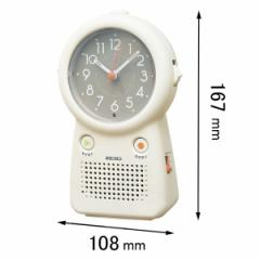 セイコークロック 録音機能付き目覚まし時計 EF506C[EF506C]【返品種別A】