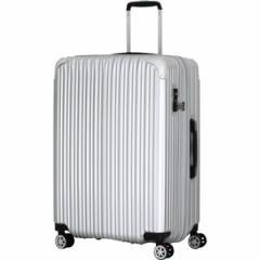 シフレ TRI2035-67SV スーツケース ハードフレーム (シルバー) 97−102LTRIDENT[TRI203567SV]【返品種別B】