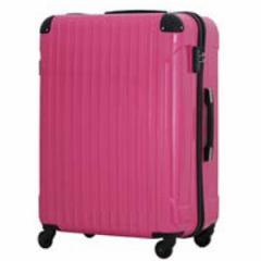 シフレ B5851T-SピユアPK スーツケース ハードジッパーキャリー S 32〜46L(ピュアピンク)serio[B5851TSピユアPK]【返品種別B】