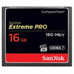 サンディスク SDCFXPS-016G-J61 コンパクトフラッシュ カード 16GBエクストリーム プロ[SDCFXPS016GJ61]【返品種別A】