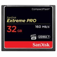 サンディスク SDCFXPS-032G-J61 コンパクトフラッシュ カード 32GBエクストリーム プロ[SDCFXPS032GJ61]【返品種別A】