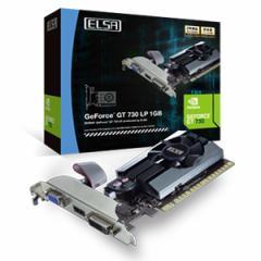エルザ GD730-1GERL PCI-Express 2.0 x16対応 グラフィックスボードELSA GeForce GT 730 LP 1GB[GD7301GERL]【返品種別B】