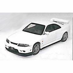 EBBRO 1/43 ニッサン スカイライン GT-R R33 Vスペック ホワイト【44186】ミニカー 【返品種別B】
