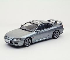 EBBRO 1/43 ニッサン シルビア スペック R S15 1999 シルバー【44615】ミニカー 【返品種別B】
