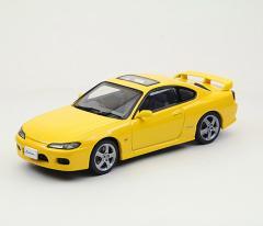 EBBRO 1/43 ニッサン シルビア スペック R S15 1999 イエロー【44619】ミニカー 【返品種別B】