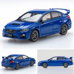 EBBRO 1/43 SUBARU WRX STI 2014 WR Blue【45308】ミニカー 【返品種別B】