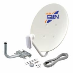 サン電子 CBD-K045-S 4K・8K衛星放送対応 BS・110°CSアンテナセット[CBDK045S]【返品種別A】