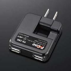 プロテック PD-2BK(プロテツク) USBコネクタ用ACアダプタ(ブラック)[PD2BKプロテツク]【返品種別A】