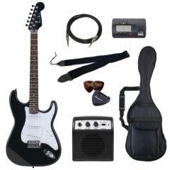 フォトジェニック エレキギター ビギナーズセット ヘッドブラック Photogenic ST-180-HBK/JS-BGセツト【返品種別A】