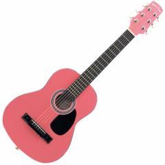 セピアクルー W-50/PK ミニアコースティックギター(ピンク)Sepia Crue[W50PKSC]【返品種別A】【週末SALE】