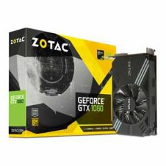 ZOTAC PCI-Express 3.0 x16対応 グラフィックスボードZOTAC Geforce GTX 1060 6GB Single Fan  ZT-P10600A-10L【返品種別B】