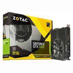 ZOTAC ZT-P10500A-10L PCI-Express 3.0 x16対応 グラフィックスボードZOTAC GeForce GTX 1050 2GB Mini[ZTP10500A10L]【返品種別B】