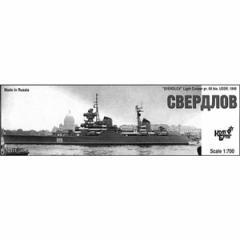 コンブリック 1/700 ソ連軽巡洋艦Pr.68bisスヴェルドロフ・1949【CS70311】 【返品種別B】
